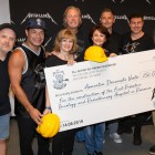 Metallica donates for children's hospital in Bucharest, sings Romanian song