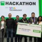 Startup co-founded by Romanian wins TechCrunch hackathon in Paris